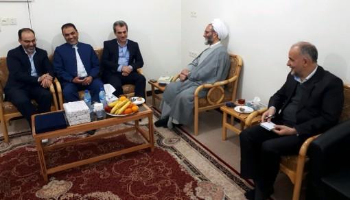 مدیرکل آموزش پرورش خوزستان در دیدار با نماینده حجت الاسلام و المسلمین قرائتی: